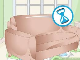 Can You Dye Leather Sofas How To Dye A Leather 10 Steps With Pictures Wikihow