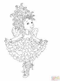 fancy nancy tea party coloring free download