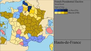 Presidential Election Map by The 2017 French Presidential Election Both Rounds Final Results
