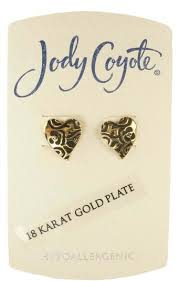 jody coyote buy blue ruffled western earrings by jody coyote qg071 in cheap