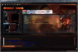 teamspeak design ts skin world of warcraft cataclysm skin teamspeak de