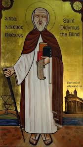 Bartholomew The Blind Man Didymus The Blind Wikipedia