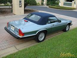 jaguar cars 1990 1990 jaguar xjs convertible sold vantage sports cars