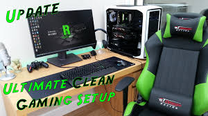 ultimate clean gaming youtube setup 2015 pc build asus rog swift