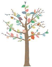stickers arbre chambre enfant sticker bohemia arbre à motifs l mimi lou file dans ta chambre