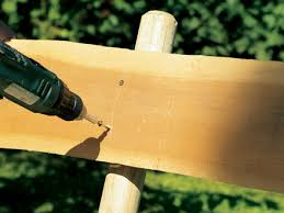 How To Build A Garden Bench With A Back Garden Bench Construction Instructions Stihl