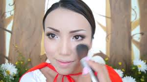 Little Red Riding Hood Makeup For Halloween by Little Red Riding Hood Makeup Tutorial Youtube