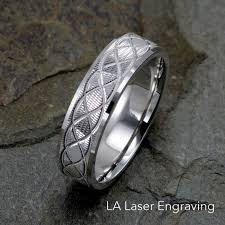 can titanium rings be engraved wedding bands wedding rings for men women la laserengraving