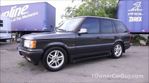 range rover 1999 p38 range rover 4 6 hse c11 callaway cars performance edition