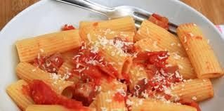 recette de cuisine all rigatoni all amatriciana facile et pas cher recette sur cuisine