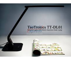 Desk Lamp Natural Light Taotronics Elune Tt Dl01 Piano Black Natural Light Led Desk