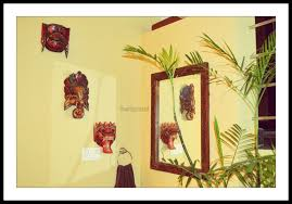 home decor thumbprinted i initially presumed the masks were locally made in thailand it was only later that i came to understand they were made in bali and popularly known as