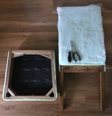 How To Reupholster Dining Chair How To Reupholster A Dining Chair Straying From Your