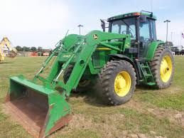john deere 7410 with 740 loader john deere equipment pinterest