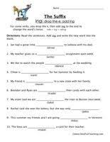 suffix ing worksheet free worksheets library download and print