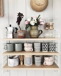 8 ways to style open shelving in the kitchen open shelving open