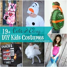 19 cute and easy kids halloween costumes