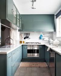Blue Painted Kitchen Cabinets 44 Best Blue Images On Pinterest Kitchen Home And Blue Cabinets