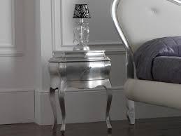 comodini foglia argento bianchi materassi illuminazione genova