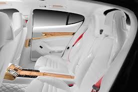Porsche Panamera All White - porsche stingray gtr with crocodile and gold interior topcar