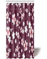 36 X 72 Shower Curtain Don U0027t Miss This Deal On Mypop Pink Japanese Floral Flower Decor