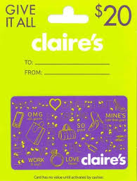 claires gift card gift ideas for tween they will 2017 christmas guide