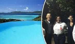 necker island barack and michelle obama on richard branson s private caribbean