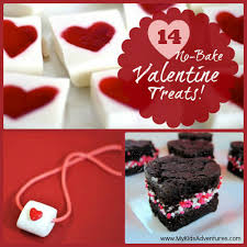 kid valentines 14 easy no bake treats to make with your kids my kids