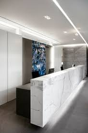 Tufted Reception Desk Our Toronto Showroom Is Full Of Beautiful Natural Stone Along