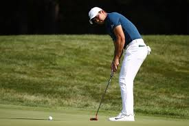 bmw golf chionships jason day and rickie fowler sit three back of leader marc leishman
