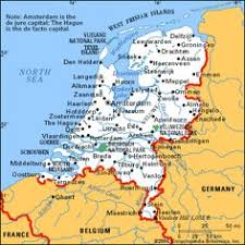 netherlands map images map of the netherlands illustrated maps