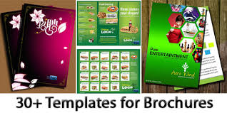 30 free collection of templates for brochures