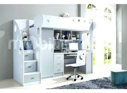 lit surélevé avec bureau lit mezzanine escalier lit mezzanine bureau ado lit mezzanine avec