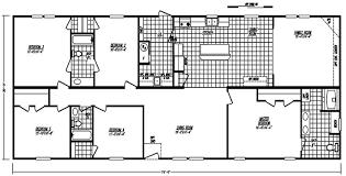 Double Wide Mobile Home Floor Plans 30 U0027 By 76 U0027 Doublewide 5 Bed 3 Bath 2 280 Sqft Austin By