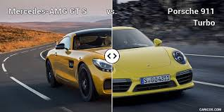 mercedes amg sports mercedes amg gt s vs porsche 911 turbo