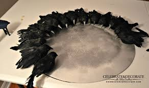 create a halloween wreath with creepy crows celebrate u0026 decorate