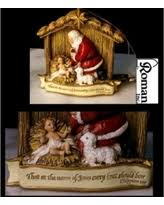 santa and baby jesus picture spectacular deal on 11 5 joseph s studio kneeling santa with