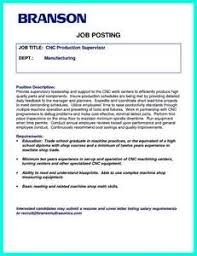 Machinist Resume Samples by Cnc Machinist Resume Sample Entry Level Cnc Operator Resume Sample