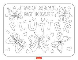 15 valentine u0027s day coloring pages for kids shutterfly