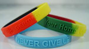 silicone bracelet wristband images Custom silicone bracelets and wristbands have a global appeal jpg