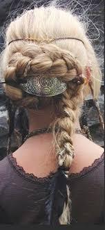 celtic warrior hair braids viking inspired hairstyle lovely pinteres