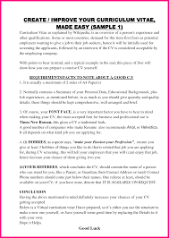 How To Make Your Resume Look Good 8 How To Make Curriculum Vitae