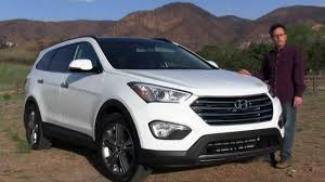 2014 hyundai santa fe review youtube
