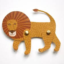 lion puppet cut out and make lion puppet card by melvin cut out and make