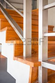 staircase in two storey house home stock photo picture and