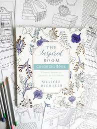 an coloring book for home decor the inspired room