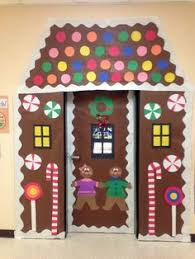 Christmas Table Decoration Contest by Gingerbread Door Decorating Contest Bulletin Boards Pinterest