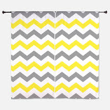 Gray Chevron Curtains Gallery For Yellow Chevron Curtains Yellow And White Chevron