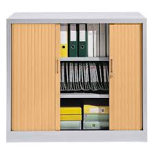 armoire à rideau bureau armoire basse de bureau à rideau my