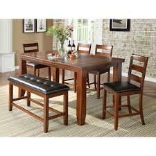 Dining Room Sets Bench Dining Room Table With Bench And Chairs